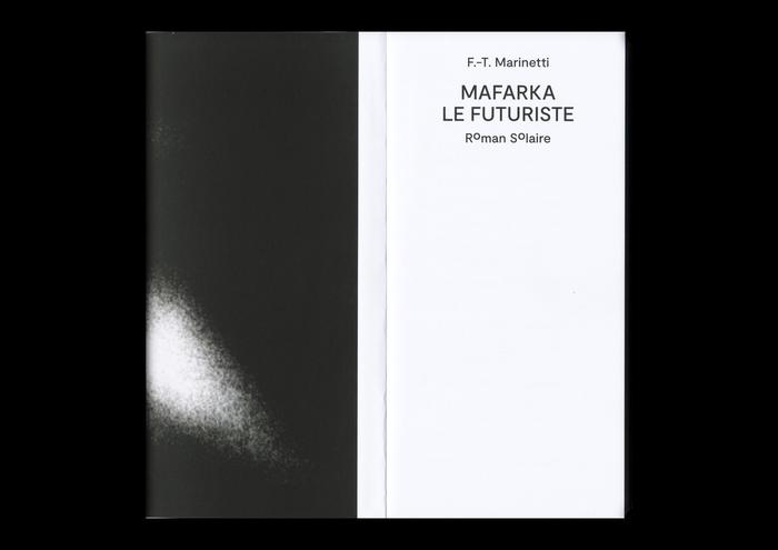 Mafarka le Futuriste, Roman Solaire (ISIA Urbino) 2
