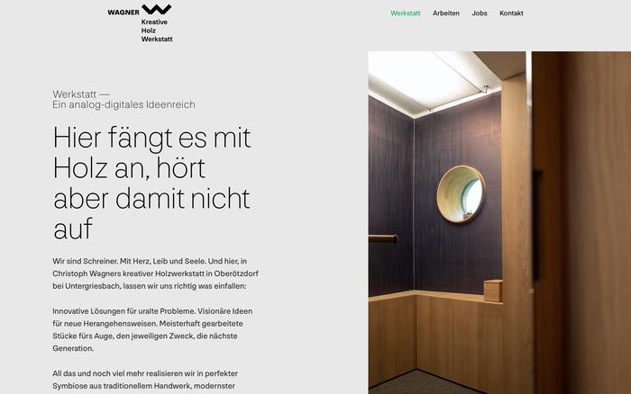 Wagner creative wood worksshop 9