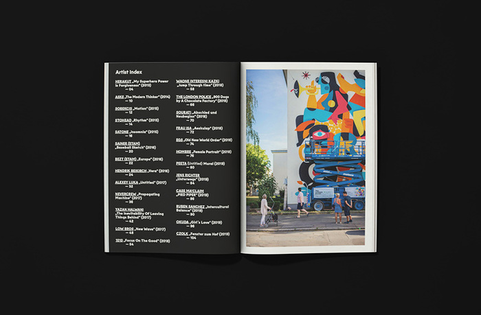 Stadt.Wand.Kunst catalogue/recap brochure 2