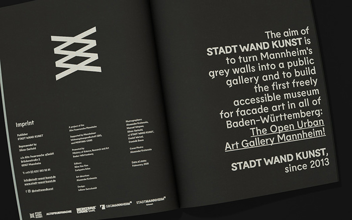 Stadt.Wand.Kunst catalogue/recap brochure 30