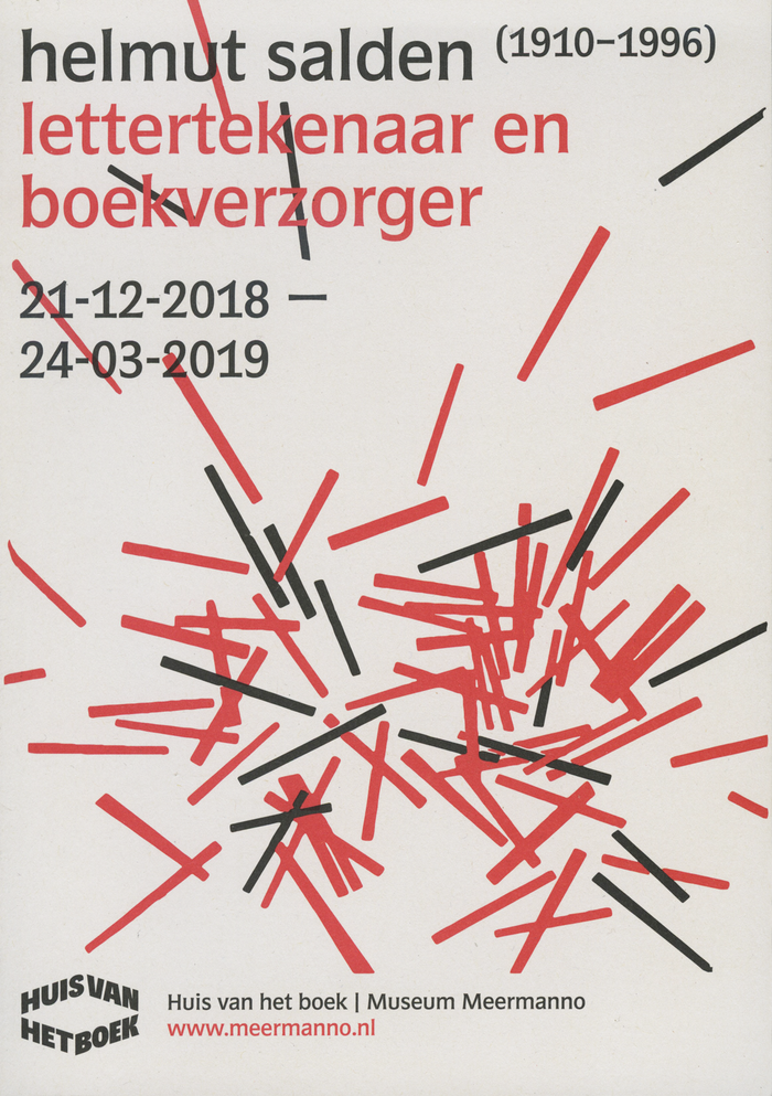 Exhibition poster / front of flyer.