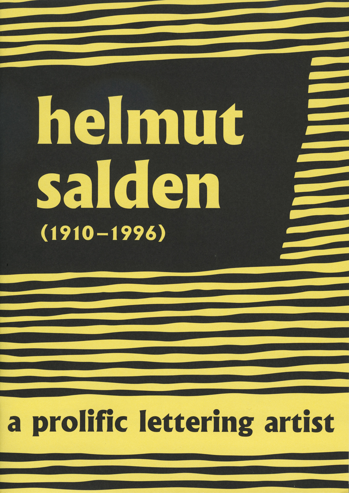 Exhibition cover.