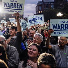 Elizabeth Warren's 2020 presidential campaign
