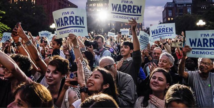 Elizabeth Warren's 2020 presidential campaign 2