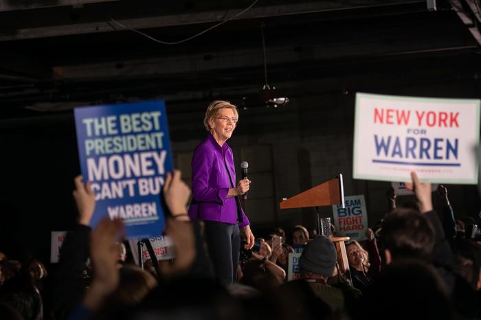 Elizabeth Warren's 2020 presidential campaign 1