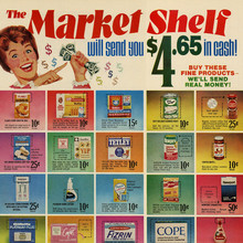 The Market Shelf ad (1969)