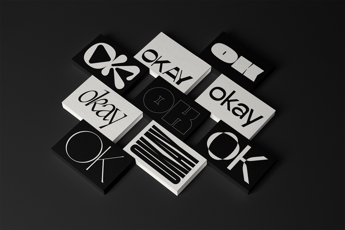 OK/Okay postcard series 6