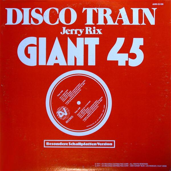 "Jerry Rix – ""Disco Train"" ft. ."