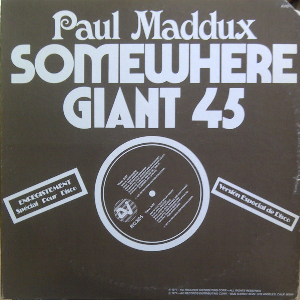 """Paul Maddux – """"Somewhere"""" ft. more  and ."""