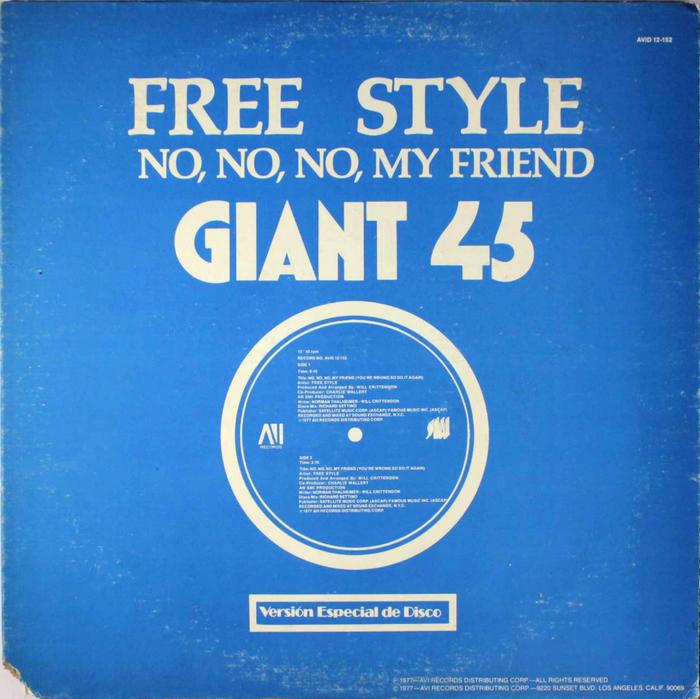 "Free Style – ""No, No, No, My Friend"" ft.  Bold."
