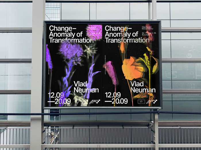 Mockup view of the posters as shown in the city.