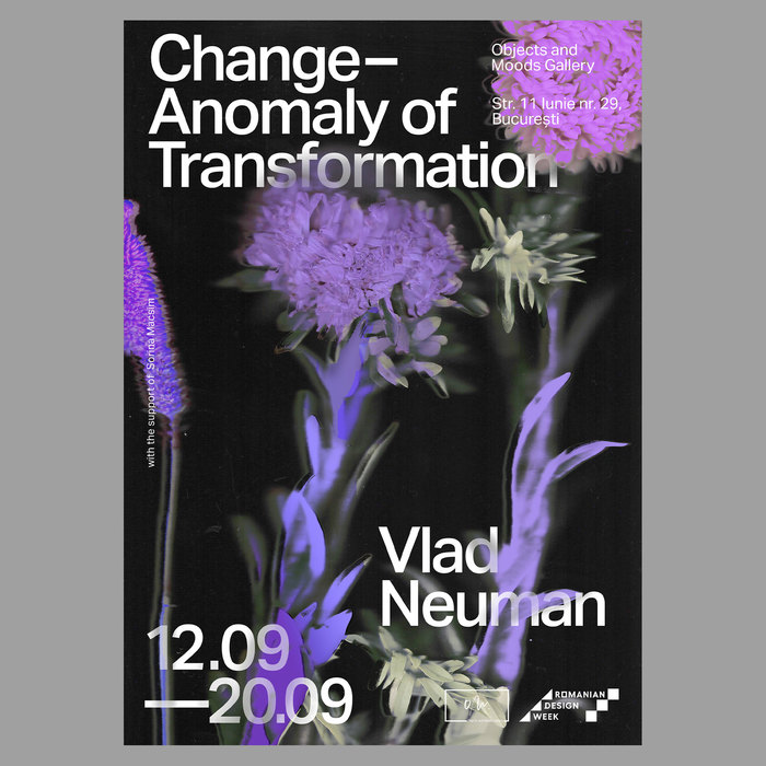Change – Anomaly of Transformation exhibition posters 2