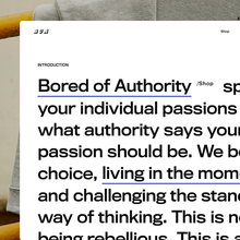 Bored Of Authority website