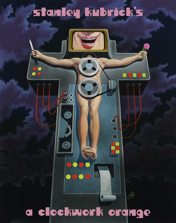 A Clockwork Orange (1971) unused movie poster 1