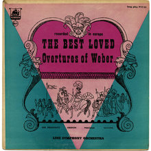 <cite>The Best Loved Overtures of Weber</cite> (Plymouth) album art