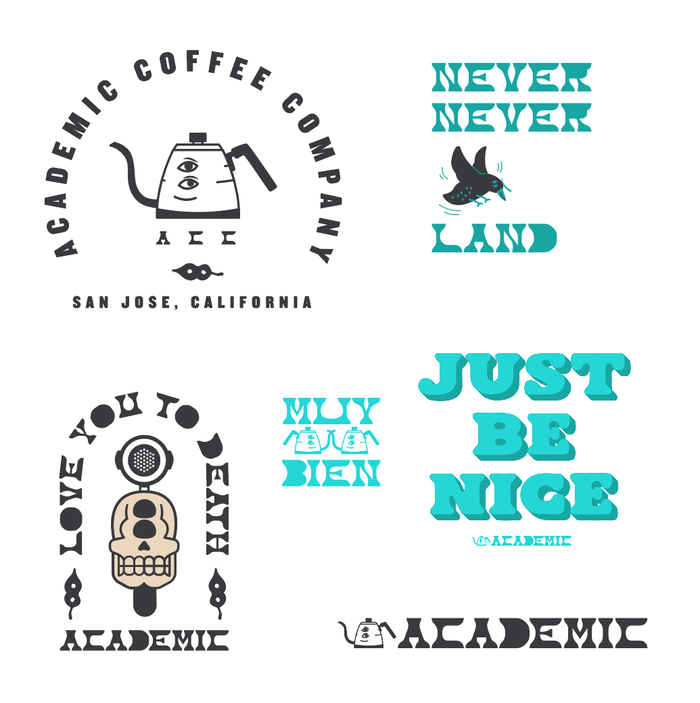 Academic Coffee identity 5