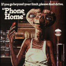 "Coors ""Phone Home"" poster"