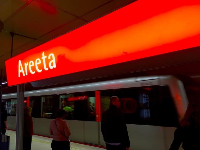 Areeta station, 2018.