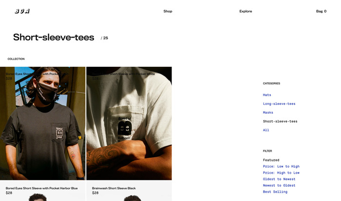 Bored Of Authority website 6