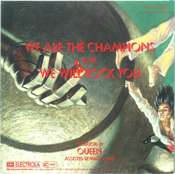 Back side of the German release on EMI Electrola.
