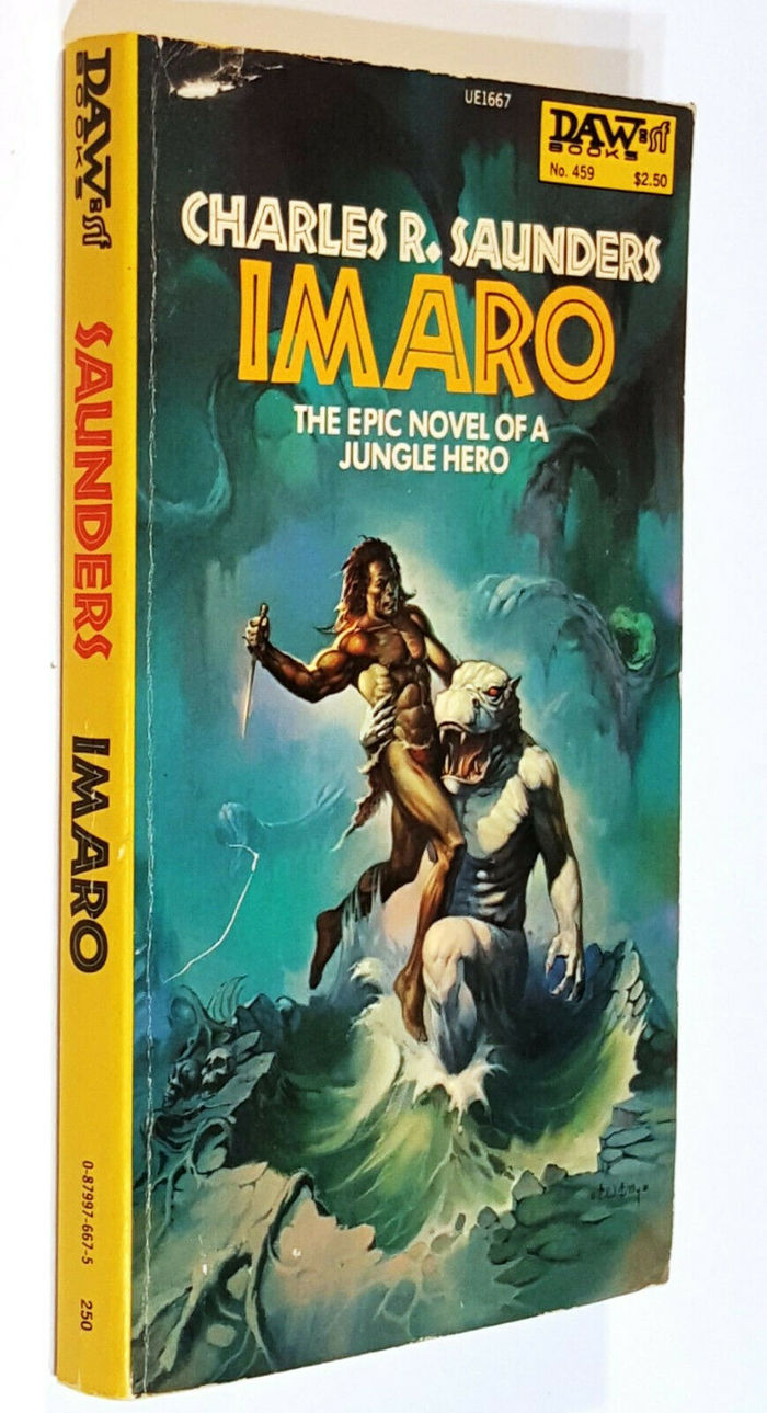 Imaro by Charles R. Saunders (DAW) 2
