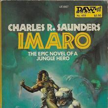 <span><cite>Imaro</cite> by Charles R. Saunders (DAW)</span>