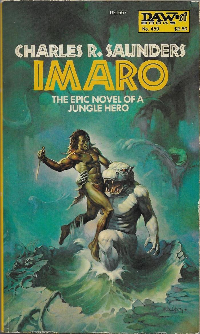 Imaro by Charles R. Saunders (DAW) 1