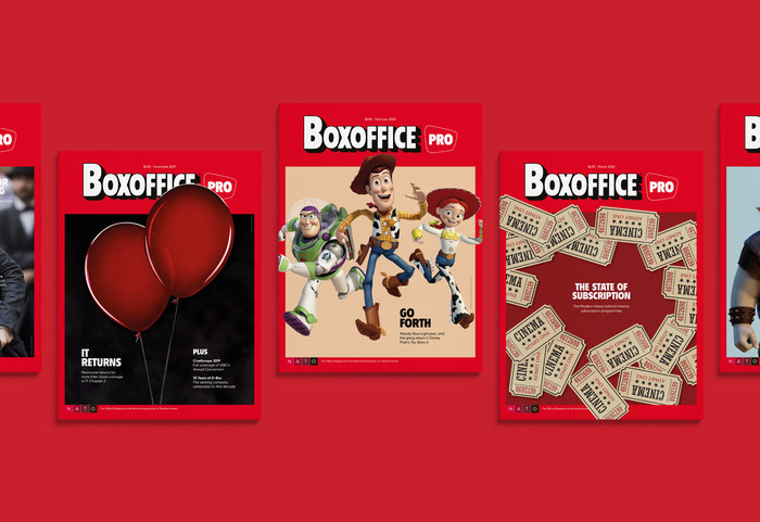 Boxoffice Pro magazine redesign 1