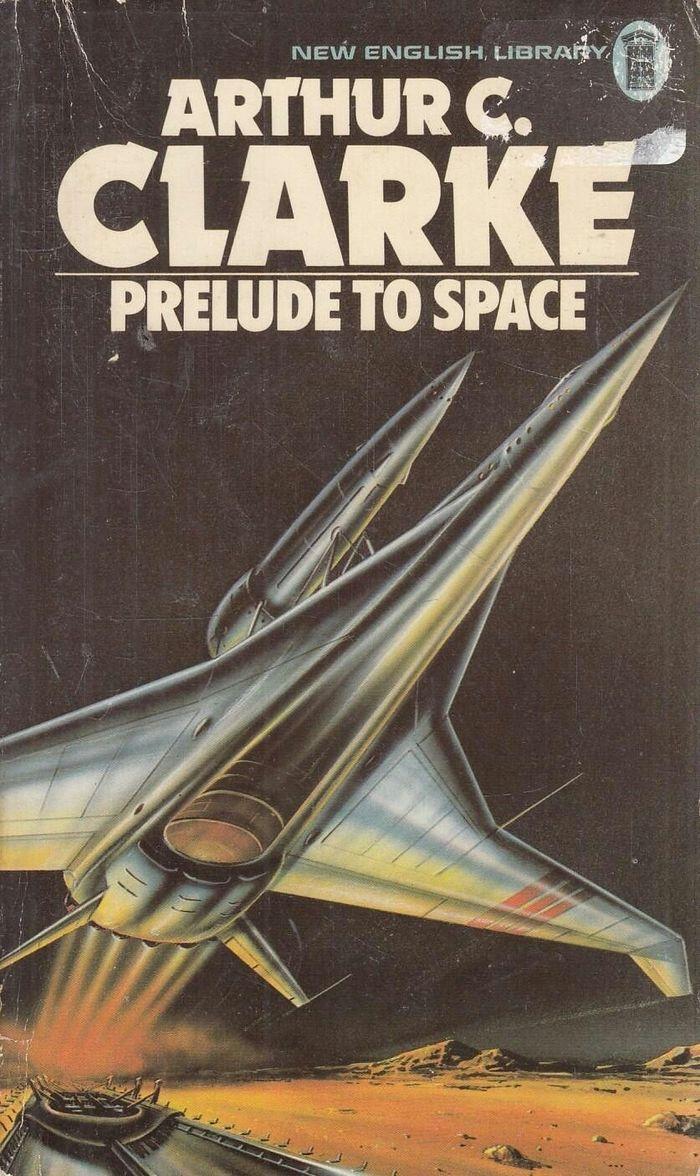 Prelude to Space, 1977. Cover art Gordon C. Davies.