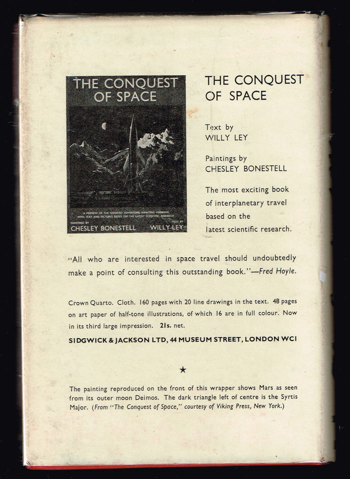 Several styles from the  series are used on the back side of the dust jacket.