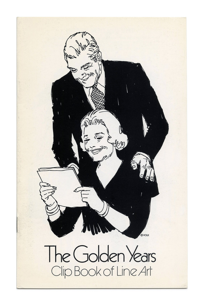 """""""The Golden Years"""" (No. 564) ft. . Sensitive typophiles may cringe at the combination of two very similar typefaces."""