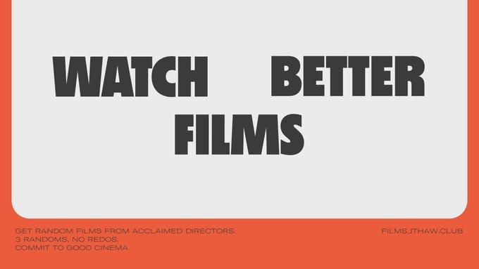 Watch Better Films website 1