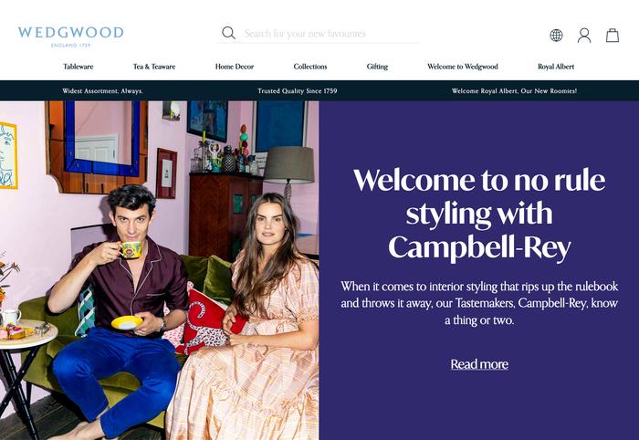 Wedgwood website 2