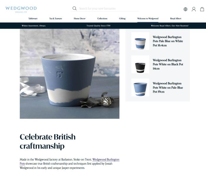 Wedgwood website 7
