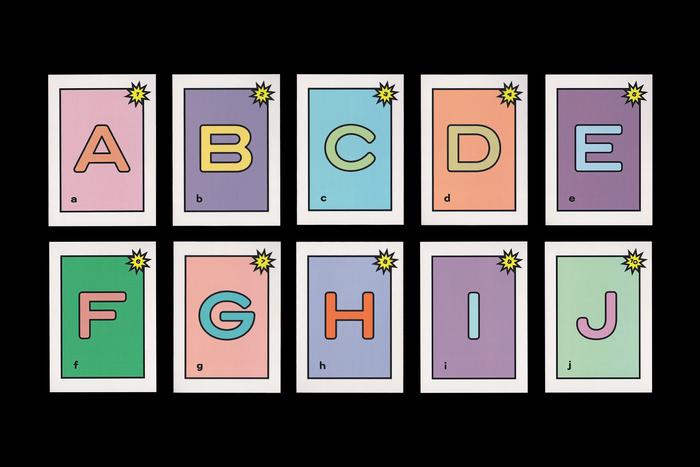 Various cards.