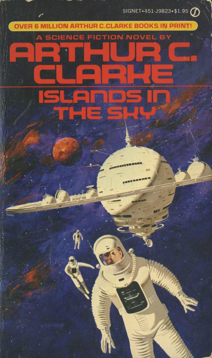Islands in the Sun, 1981. Cover art by Vincent Di Fate, 1981. [ISFDB]