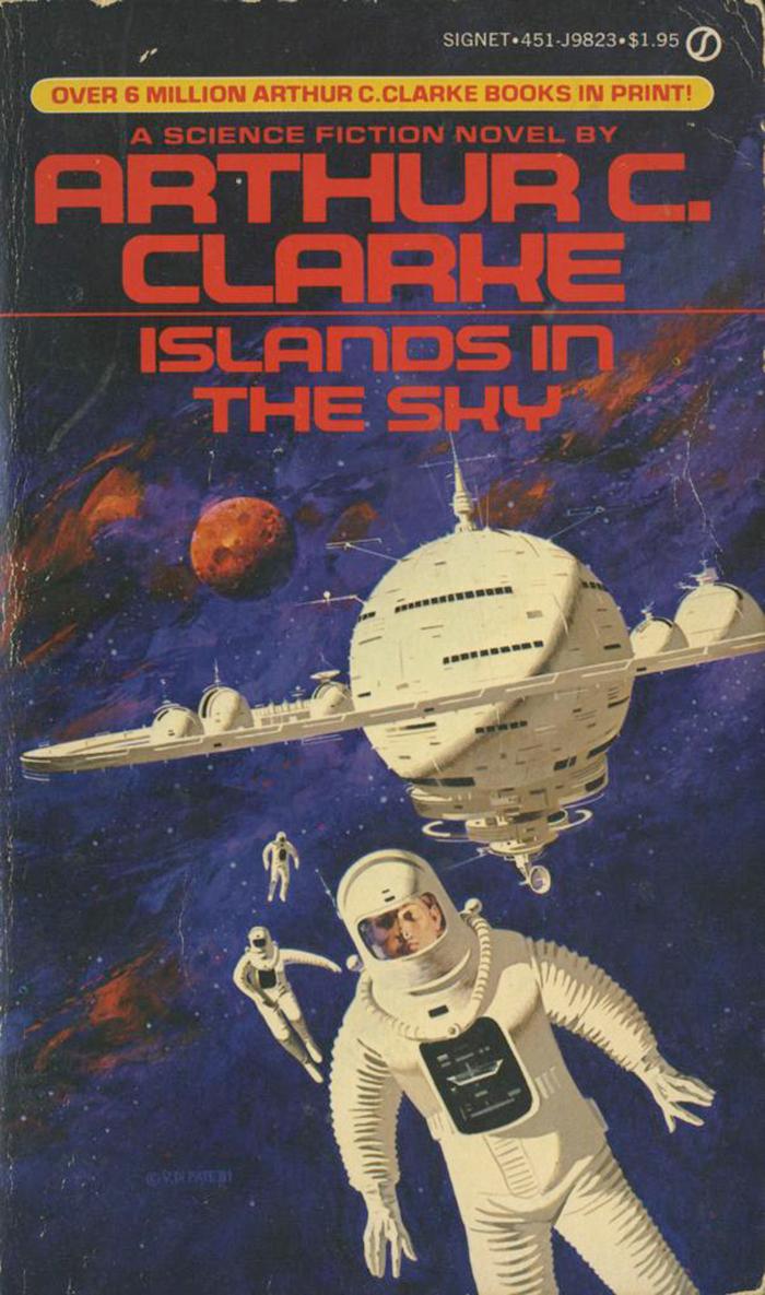 Islands in the Sun, 1981. Cover art by Vincent Di Fate, 1981. [ISFDB]
