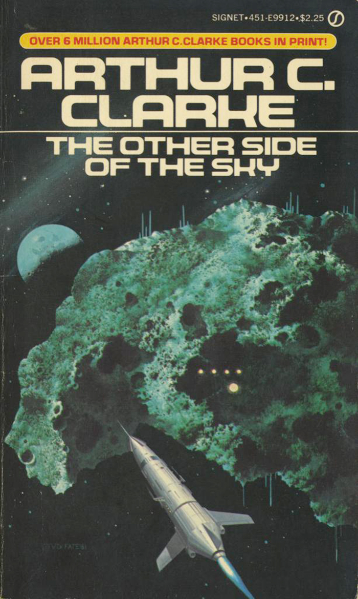 The Other Side Of The Sky, 1981. Cover art by Vincent Di Fate, 1981. [ISFDB]