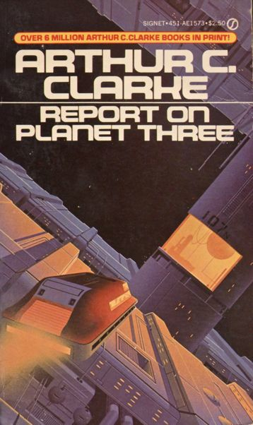 Report on Planet Three, 1982. [ISFDB] Cover artist unknown.