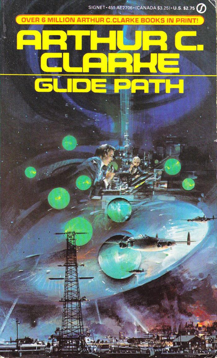 Glide Path, 1982. Cover art by John Berkey. [ISFDB]