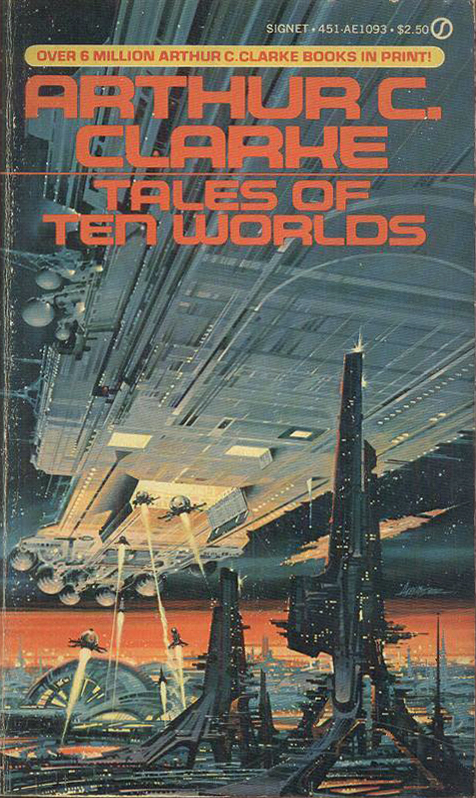 Tales of Ten Worlds, 1981. Cover art by Paul Alexander. [ISFDB]