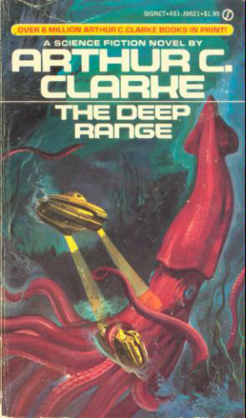 The Deep Range, 1981. Cover artist unknown.
