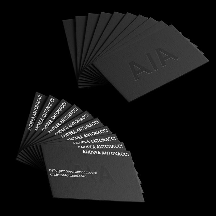 Andrea Antonacci business cards 1