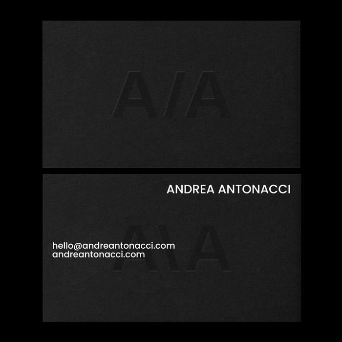Andrea Antonacci business cards 2