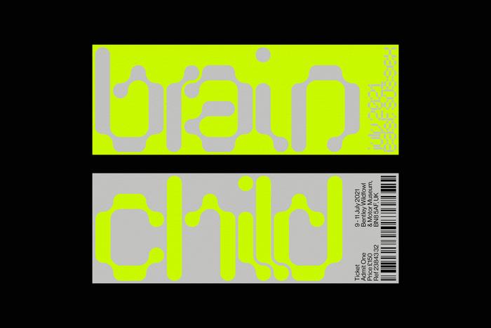 Brainchild Festival 2021 identity (fictional) 2