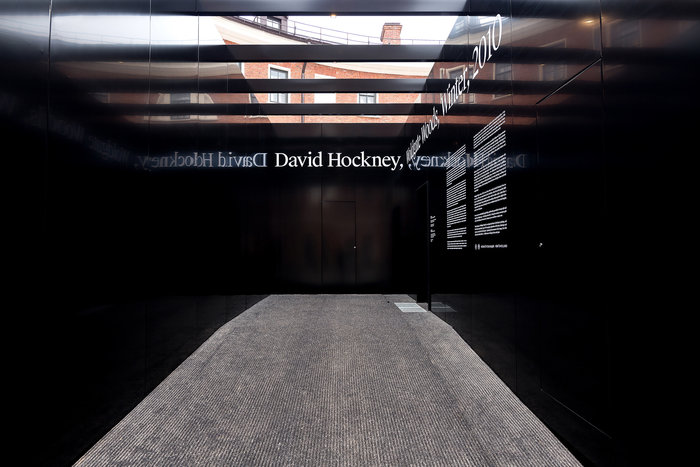 David Hockney – Woldgate Woods, Winter, 2010 4