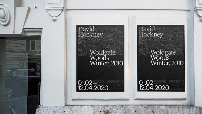David Hockney – Woldgate Woods, Winter, 2010 7