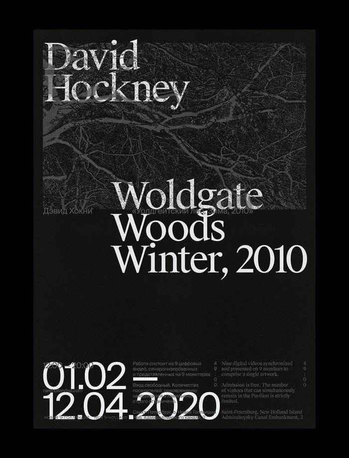 David Hockney – Woldgate Woods, Winter, 2010 8