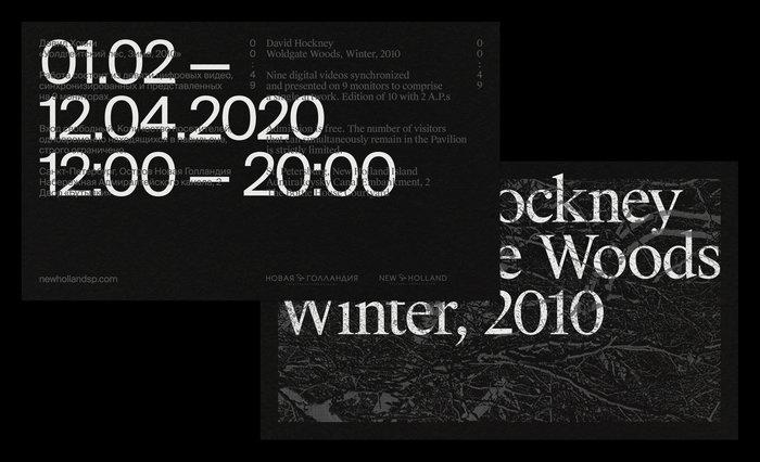 David Hockney – Woldgate Woods, Winter, 2010 13