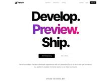 Vercel website